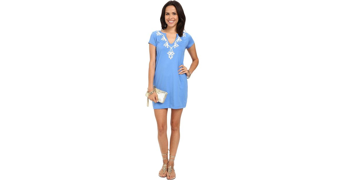 d1ff880a8ba0e2 Lilly Pulitzer Brewster Dress in Blue - Lyst