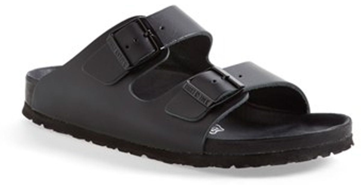 Birkenstock Monterey Leather Sandal In Black Lyst