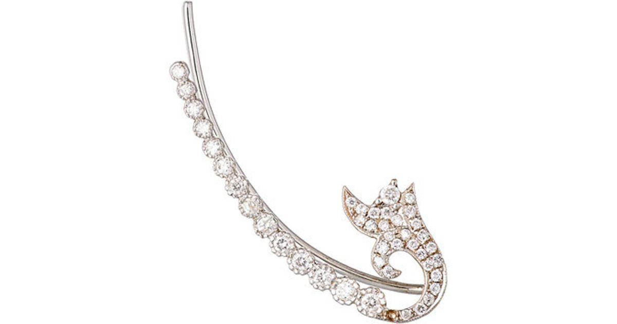 Womens Veena Large Hoop Earrings Sara Weinstock cFL0xTFmyx