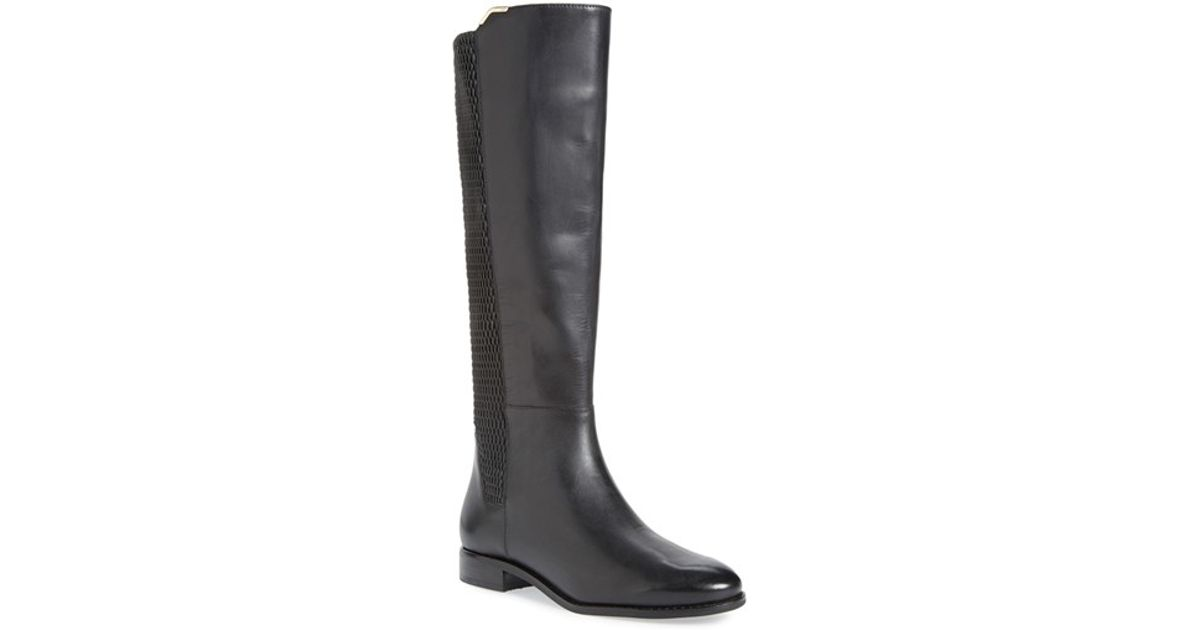 7113ac7f679 Cole Haan - Black 'rockland' Tall Boot - Lyst