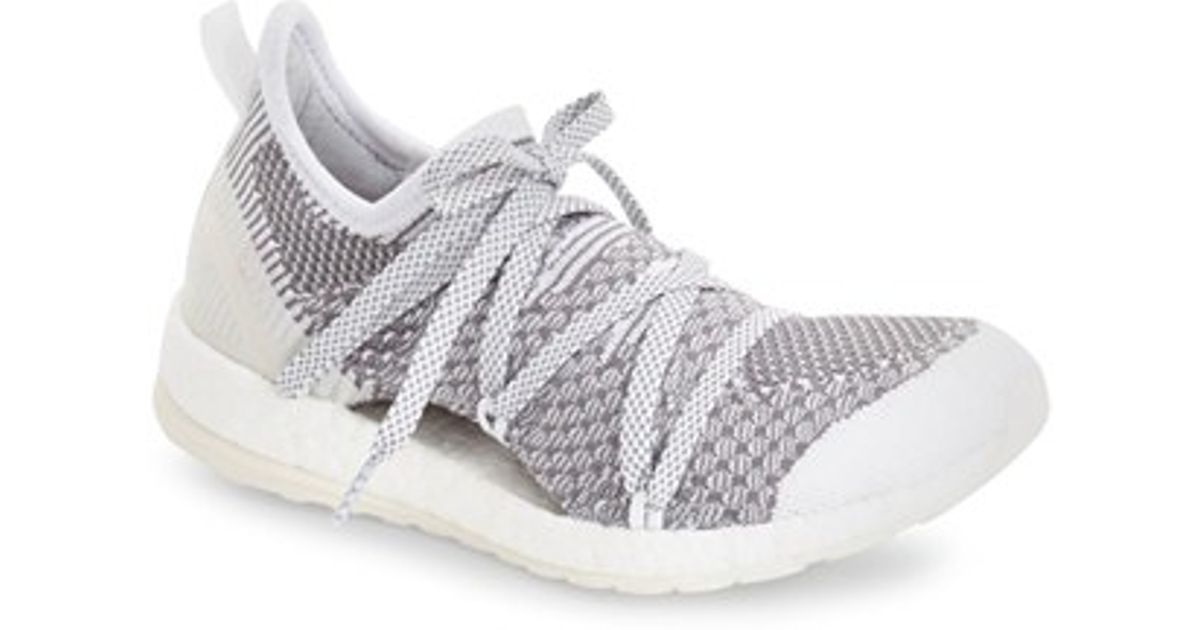 8e8d75435 Lyst - adidas Originals By Stella Mccartney  pure Boost  Running Shoe in  Gray