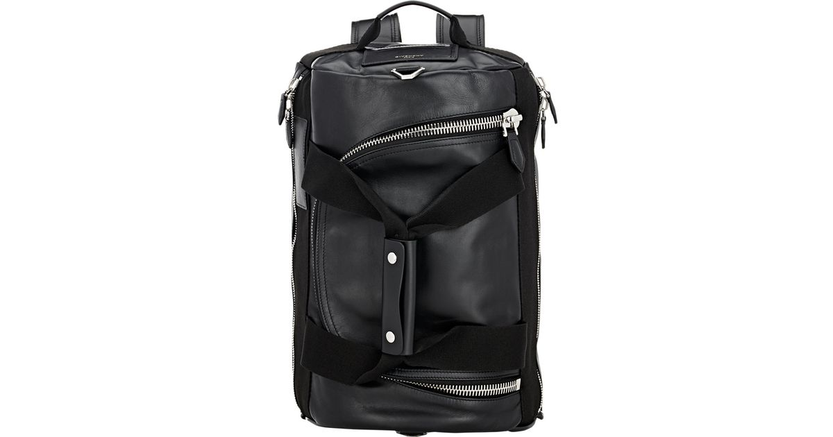 6b9e2c1a7 Givenchy 17 Convertible Gym Bag/backpack in Black for Men - Lyst