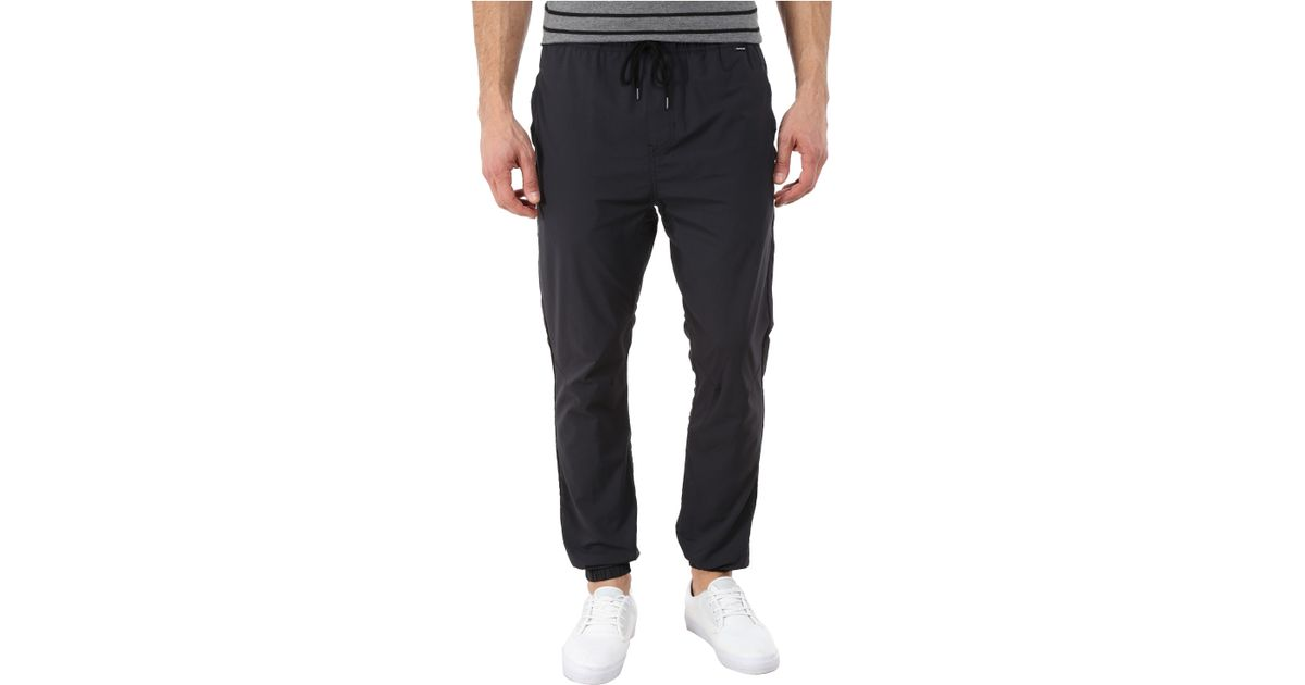 3e55472cac346 Hurley Dri-fit Drifter Jogger in Black for Men - Lyst