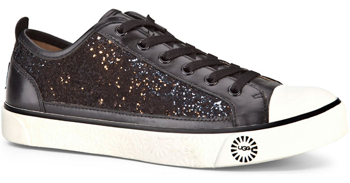 a9b2ff44d6b UGG - Black Evera Glitter Sneakers - Lyst