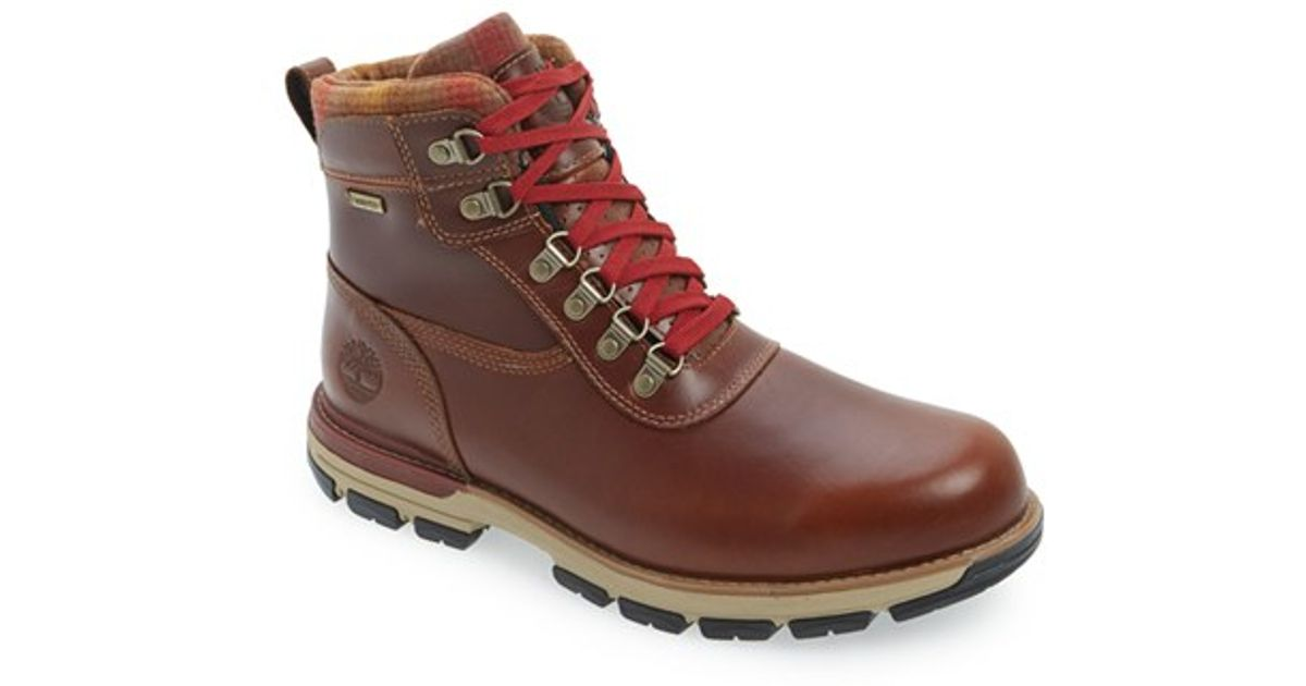 aaf0a2a55957ca Lyst - Timberland  heston Mid  Waterproof Plain Toe Boot in Brown for Men