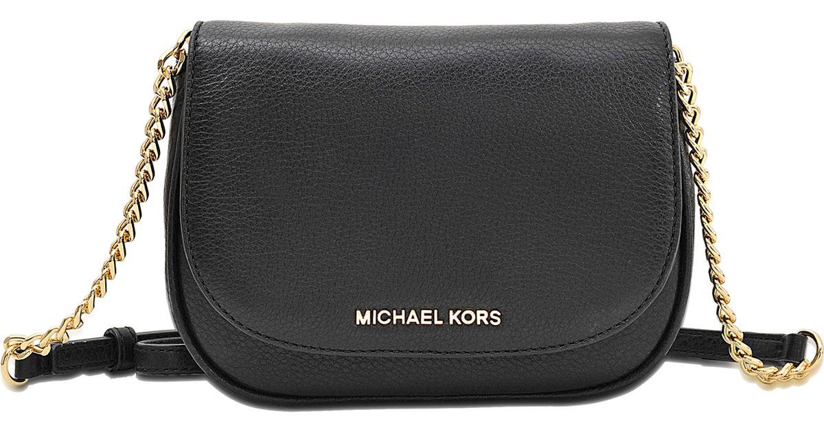 8e8d0c6b103d MICHAEL Michael Kors Bedford Small Crossbody Bag in Black - Lyst