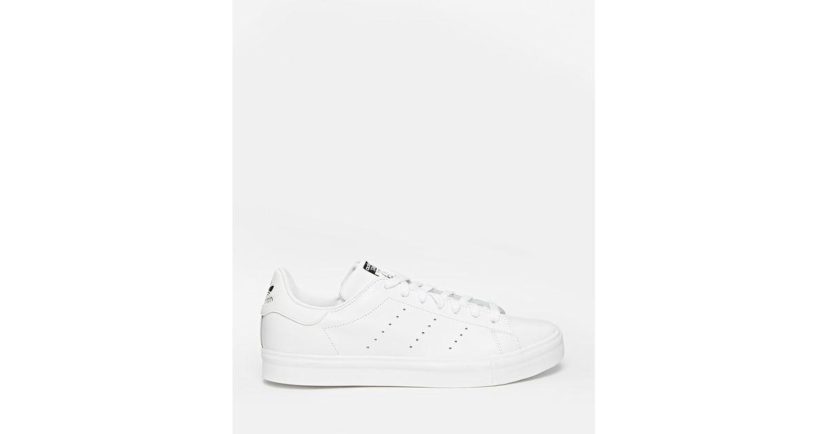 0702de92ca9260 Lyst - adidas Originals Stan Smith Vulc Trainers S77449 in White for Men