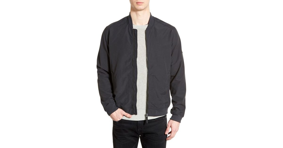 famous designer brand select for latest discount coupon Bench Black 'spring Fz' Bomber Jacket for men