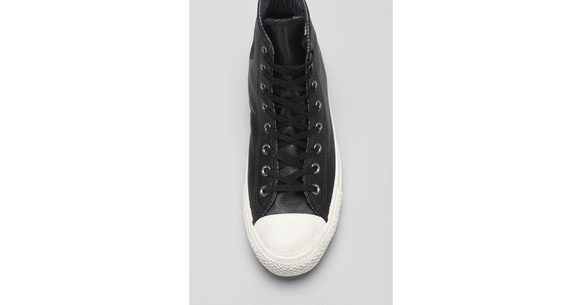 fba4396426d81e Lyst - Converse X Uo Chuck Taylor All Star Leather High-Top Men S Sneaker  in Black for Men