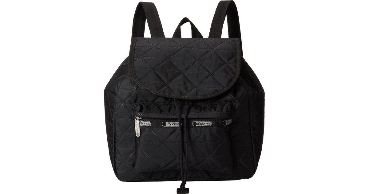 3b8d4b6c1fe Lyst - Lesportsac Small Edie Backpack in Black