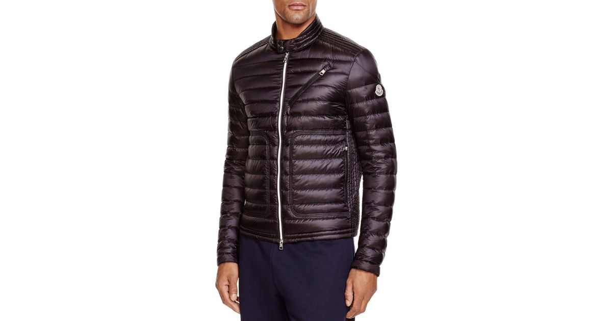 77628a321 Moncler Navy Down Picard Jacket esw-ecommerce.co.uk