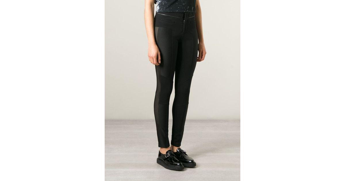 6226fd76f28a1 DIESEL 'p-trina-b' Trousers in Black - Lyst