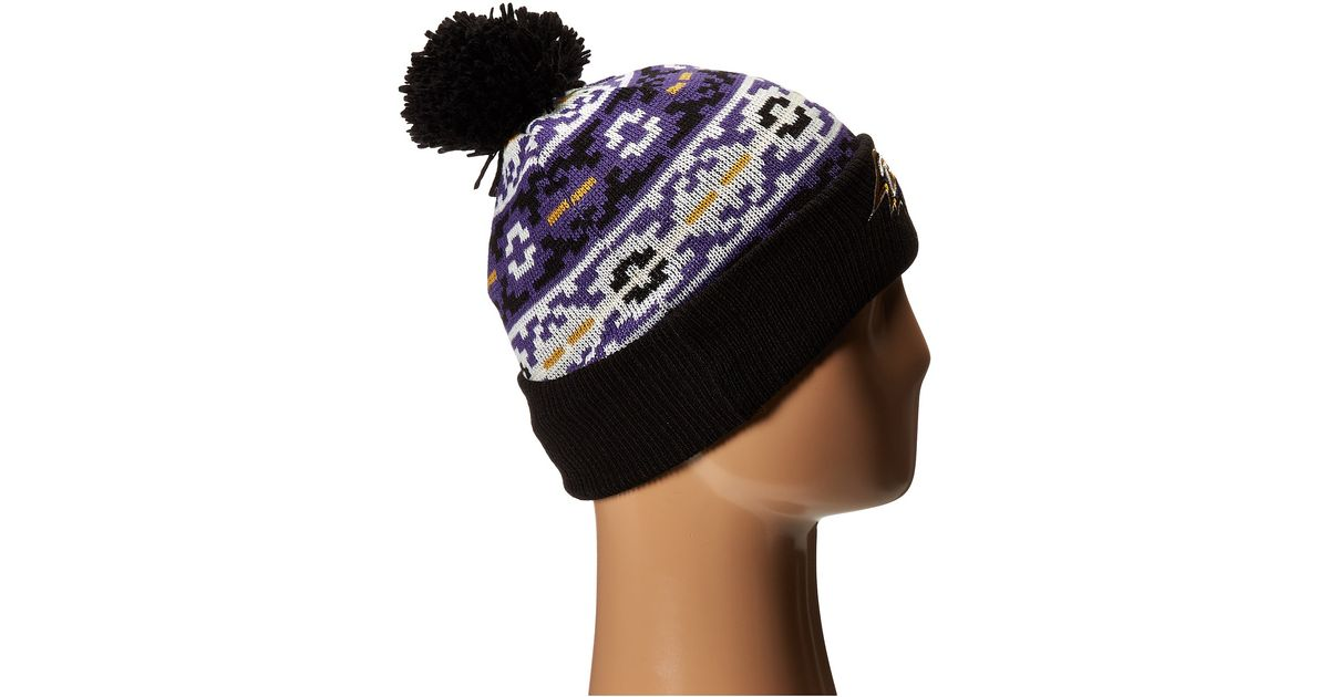 Lyst - Ktz Retro Chill Baltimore Ravens in Purple for Men 53892d717