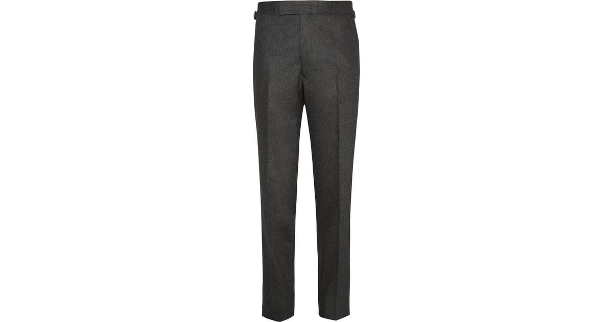 Merlins Wool-flannel Trousers Kingsman 9zqrahz