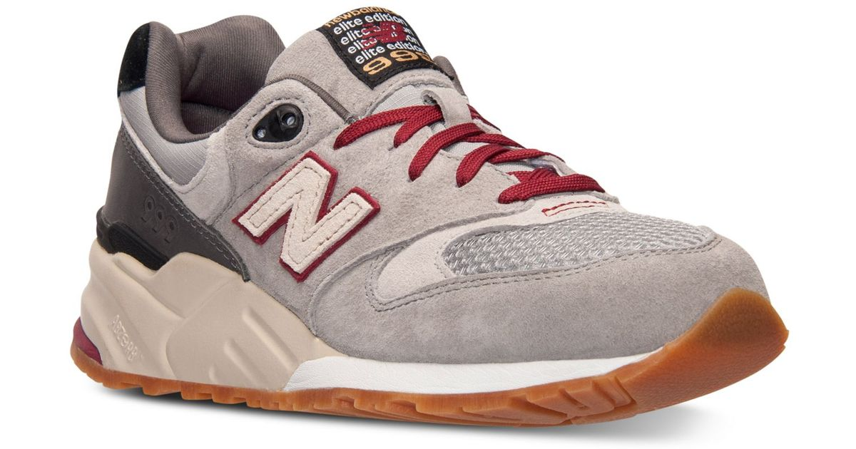 322a89d6db72e ... coupon for lyst new balance mens 999 limited edition casual sneakers  from finish line in gray