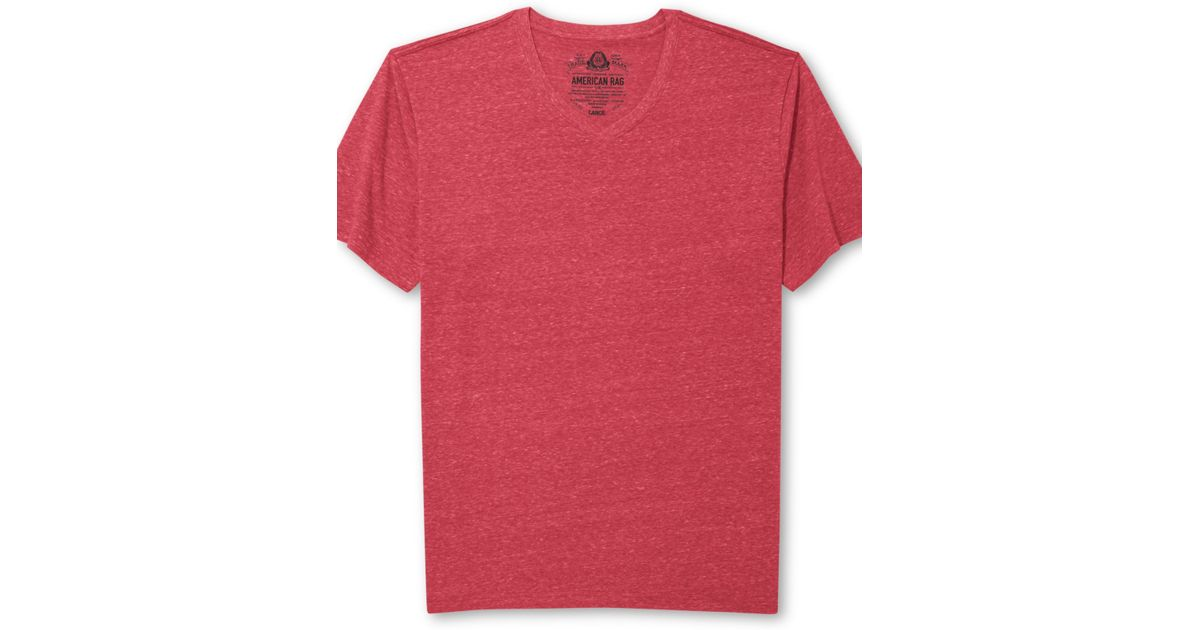 american rag solid tri blend t shirt in for lyst