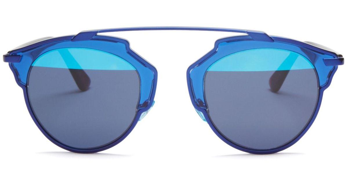072d48e3116f Dior So Real Split Lens Mirrored Sunglasses