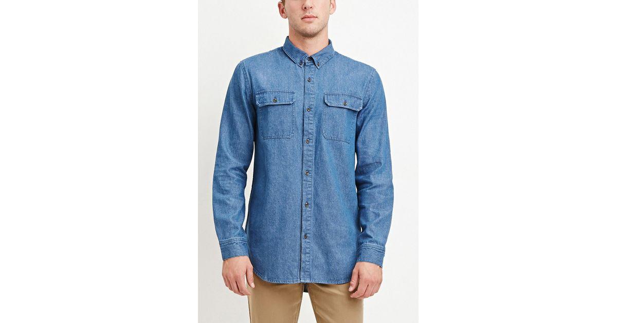 denim shirt pockets - photo #37