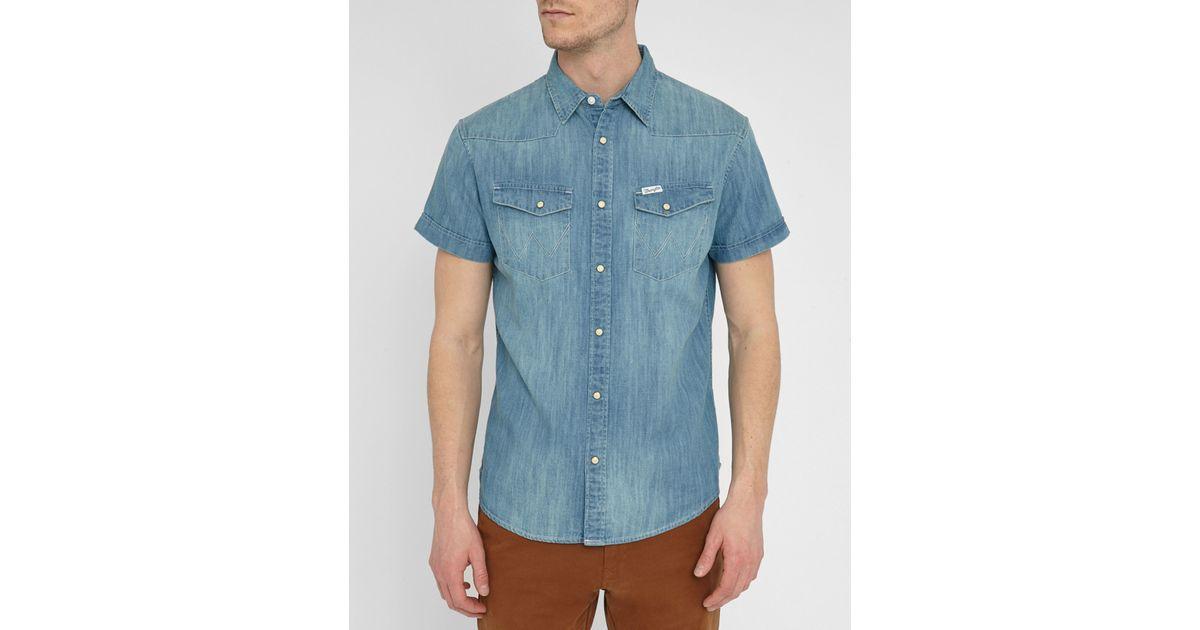 denim shirt pockets - photo #41