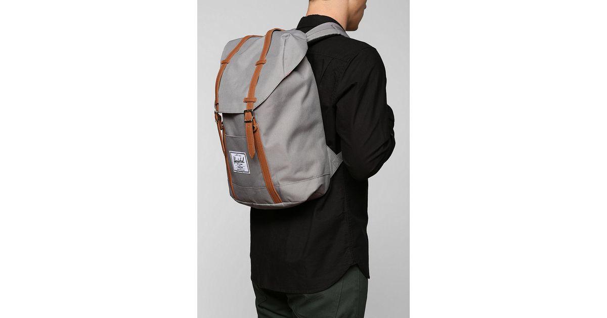 Lyst - Herschel Supply Co. Retreat Backpack in Gray a8fa1b8f8f