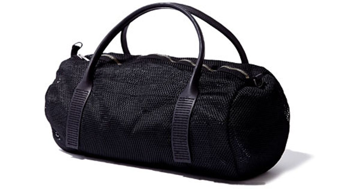 DRKSHDW by Rick Owens Mens Woven Duffle Bag in Black for Men - Lyst ebb20c4ff0c85
