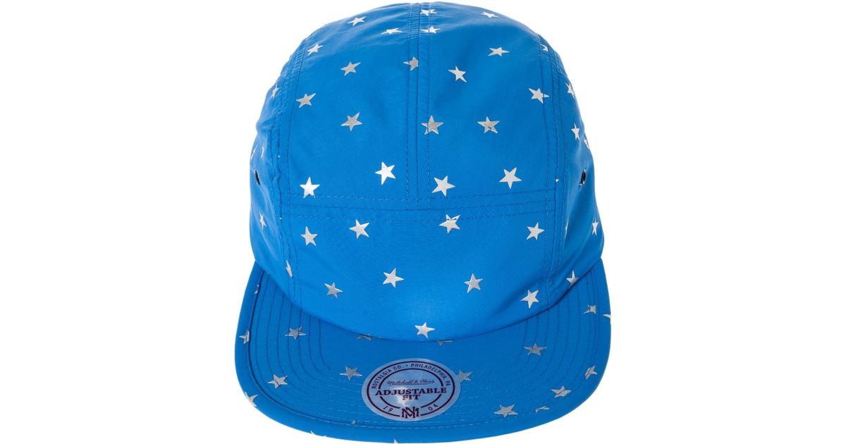 the latest adc4c 9724e Lyst - Mitchell   Ness The Orlando Magic Stars Camper Hat in Blue for Men