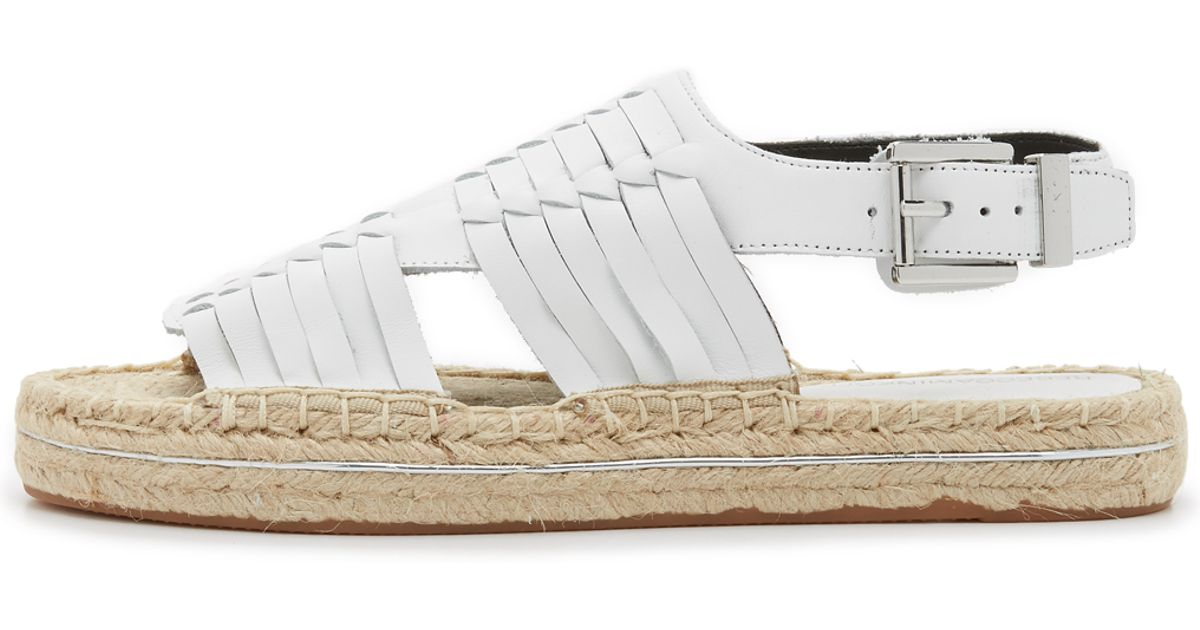 abad6e936c23 Lyst - Rebecca Minkoff Gabriel Huarache Espadrille Sandals in White