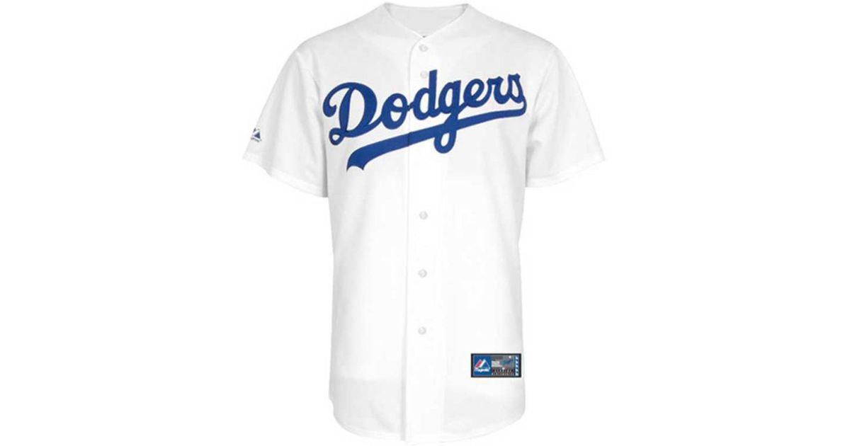 Lyst - Majestic Kids Hanley Ramirez Los Angeles Dodgers Replica Jersey in  White for Men 85eb61f5919
