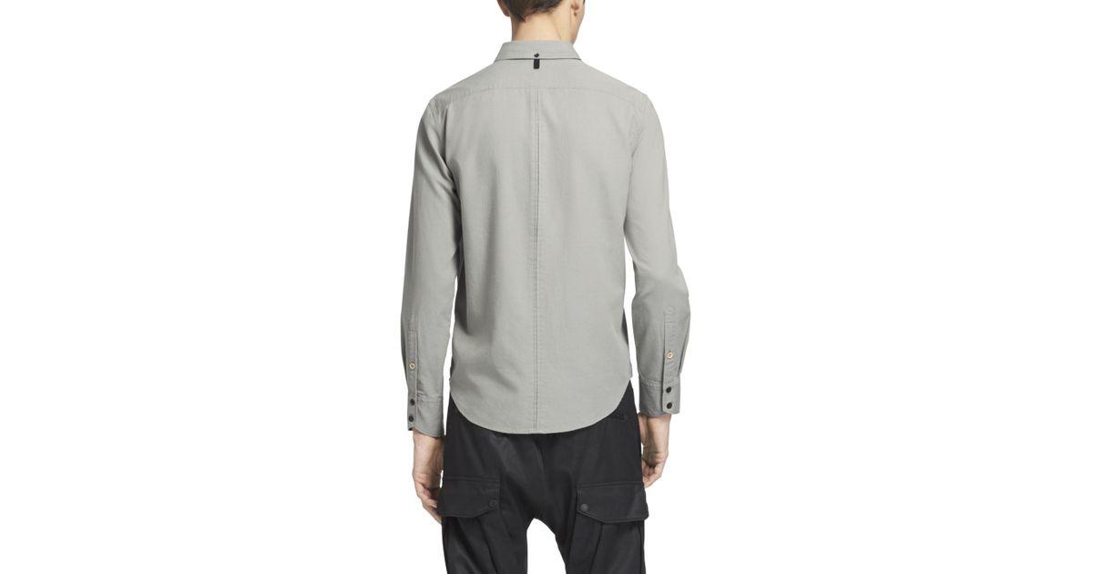 05a77c6473 Lyst - Rag   Bone Yokohama Shirt in Green for Men
