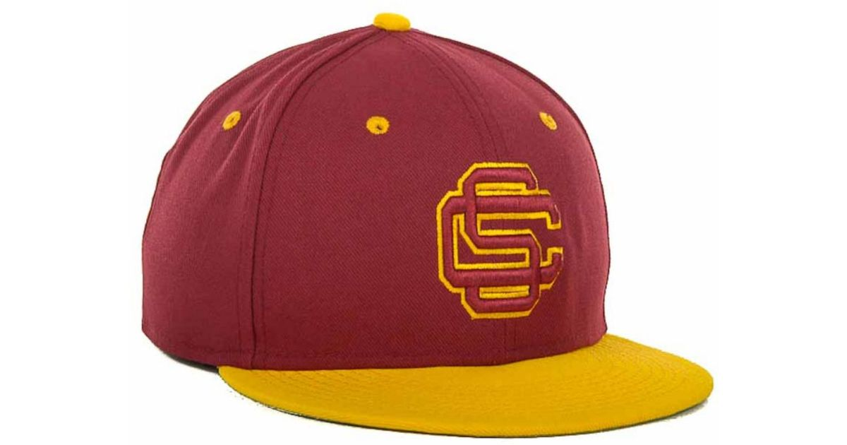 fb0f6f8937b ... performance meshback flex hat c64ed b4aad  new zealand lyst nike usc  trojans ncaa team sports authentic fitted cap in red for men