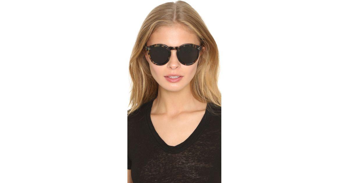 b914844bec Lyst - Illesteva Leonard Ii Sunglasses in Brown