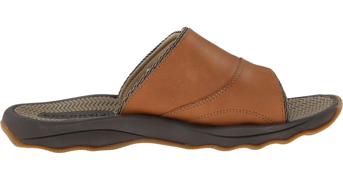 Sperry Top Sider Outer Banks Slide In Brown For Men Lyst