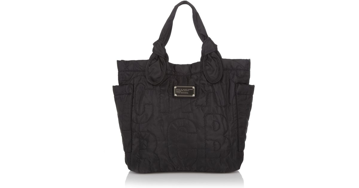b5fe993a73b7f Marc By Marc Jacobs Pretty Nylon Lil Tate Tote in Black - Lyst
