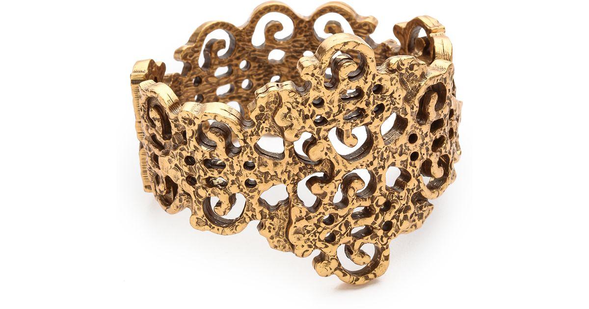 À La Garçonne embellished bracelet - Metallic oIRftro5J