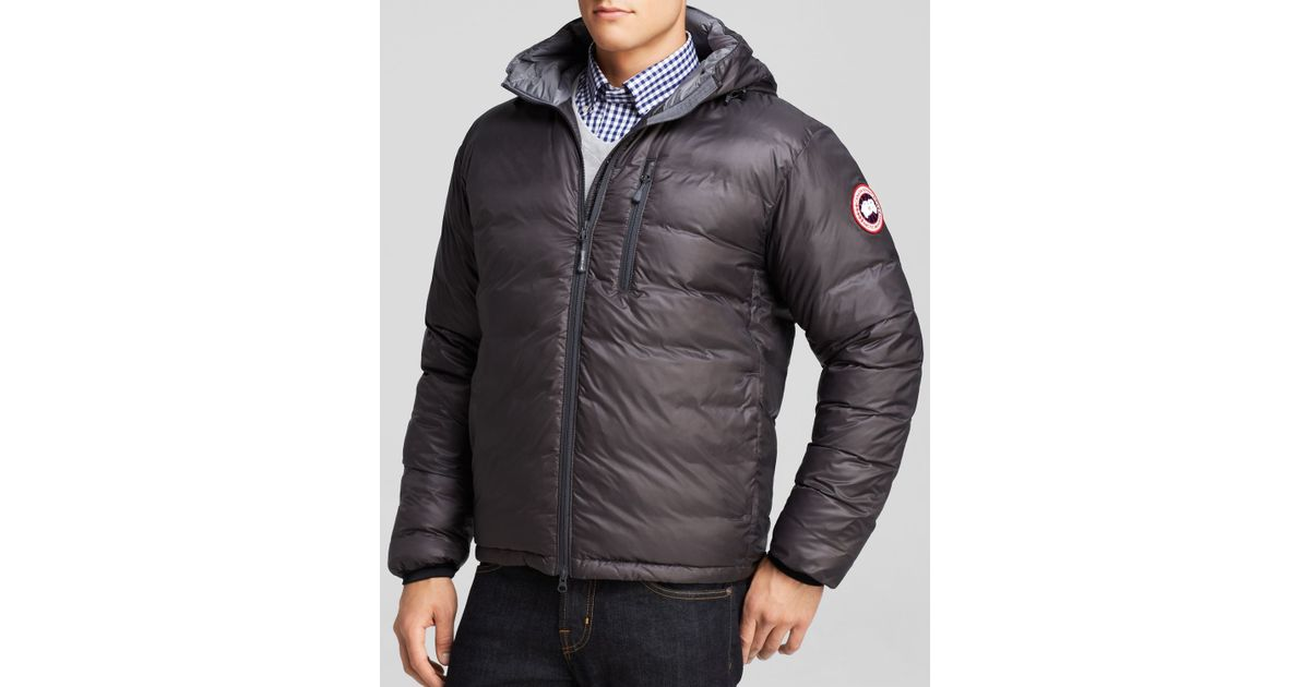 Canada Goose Mens Puffer Parka Grey Size X Large