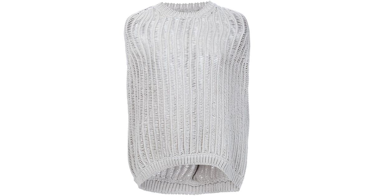 cashmere cowl neck jumper - Nude & Neutrals Rick Owens Free Shipping Best Wholesale Inexpensive Cheap Online U9bpI