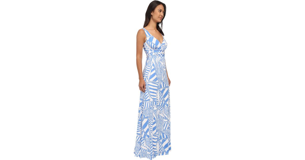 Lyst Lilly Pulitzer Sloane Maxi Dress In Blue