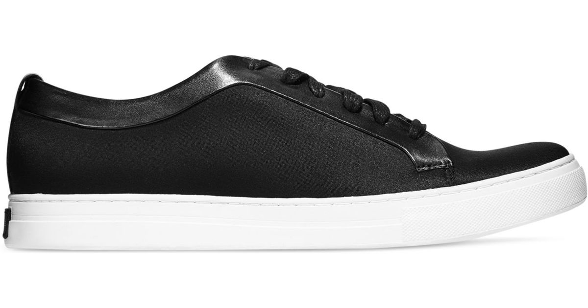 f174517f519f3 Kenneth cole Double Knot Mixed Media Sneakers in Black for .