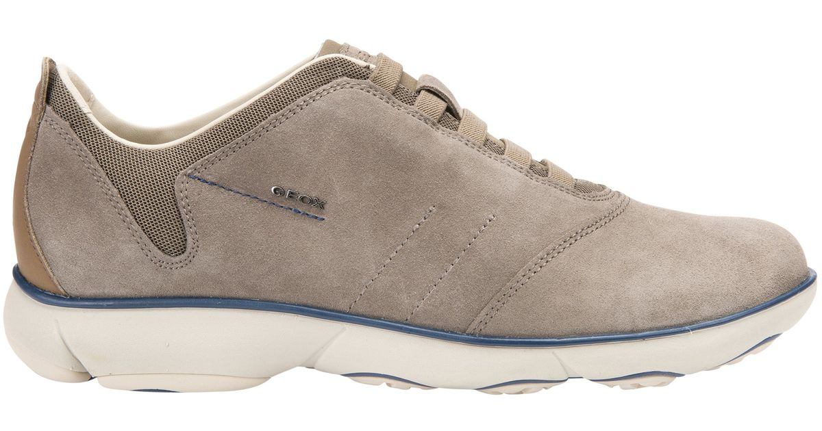 50881d6f5e Geox Nebula 3d Breathing Trainers in Gray - Lyst