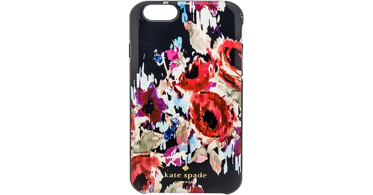 online store 7b44c 5d112 kate spade new york Blue Hazy Floral Iphone 6 Case