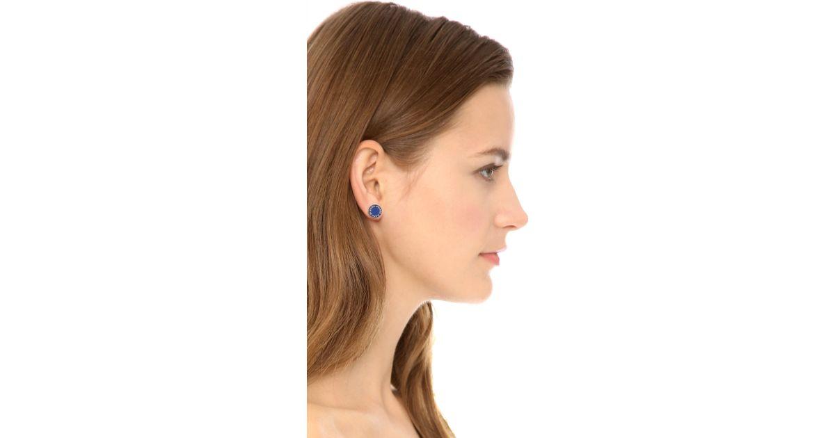 b19ddb339 Marc By Marc Jacobs Logo Disc Stud Earrings - Best All Earring ...