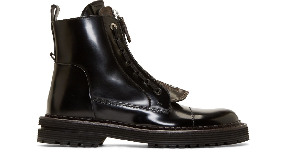 Fendi Selleria Leather Boots outlet authentic 0vkCl