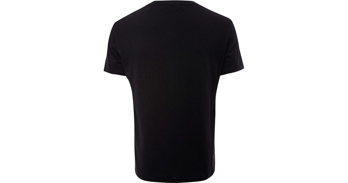 677ce12f Alexander McQueen Black Floral Skull Print Cotton T-shirt in Black for Men  - Lyst