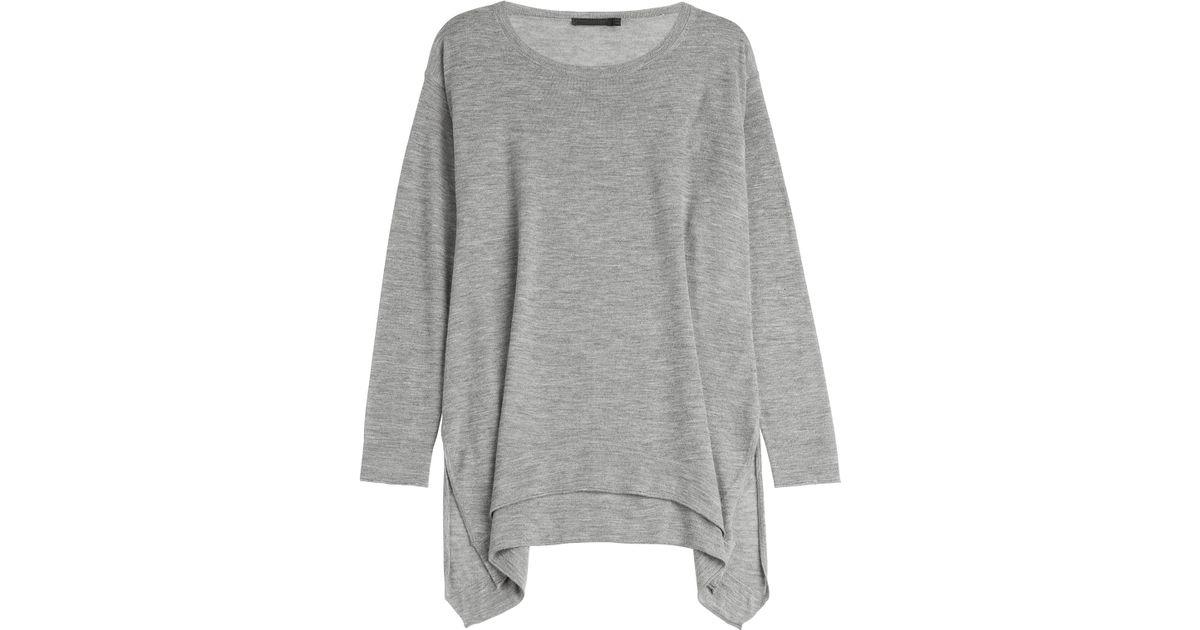 timeless design 97226 fc434 Donna Karan - Gray Cashmere Pullover - Grey - Lyst