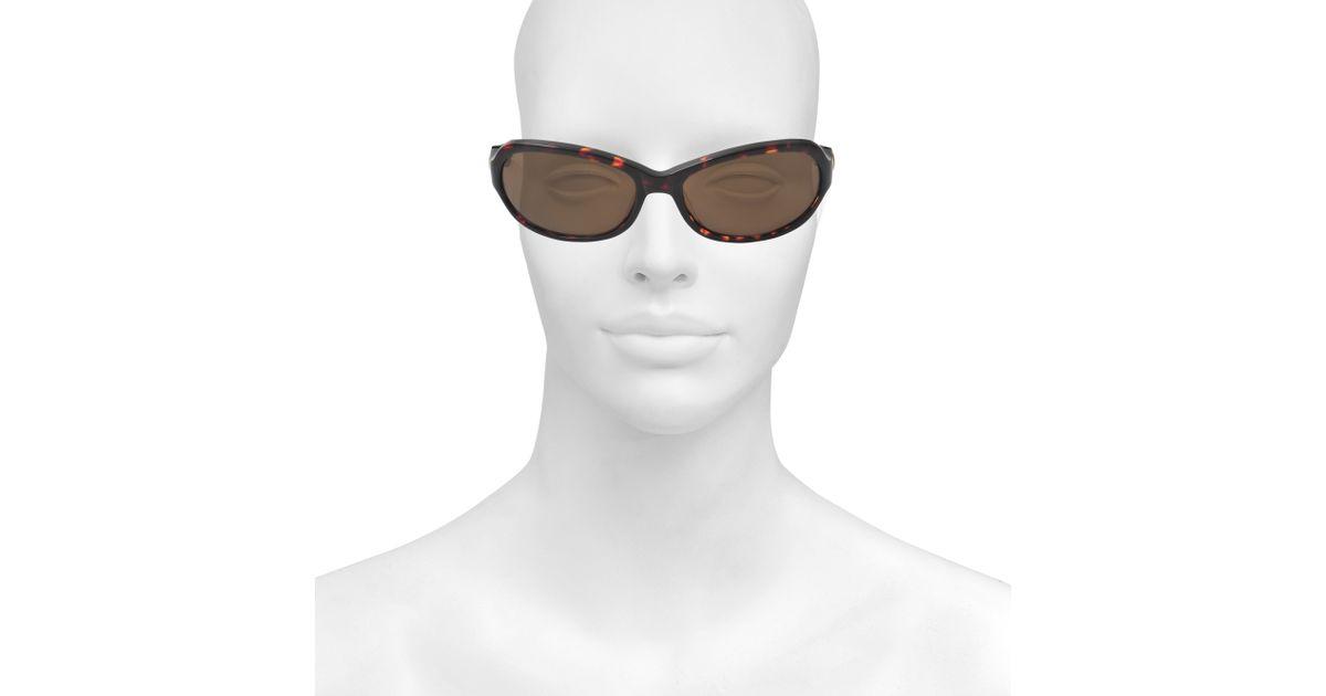 646b9a71dee9f Sonia Rykiel Sr7686 Scaled Sunglasses in Brown - Lyst