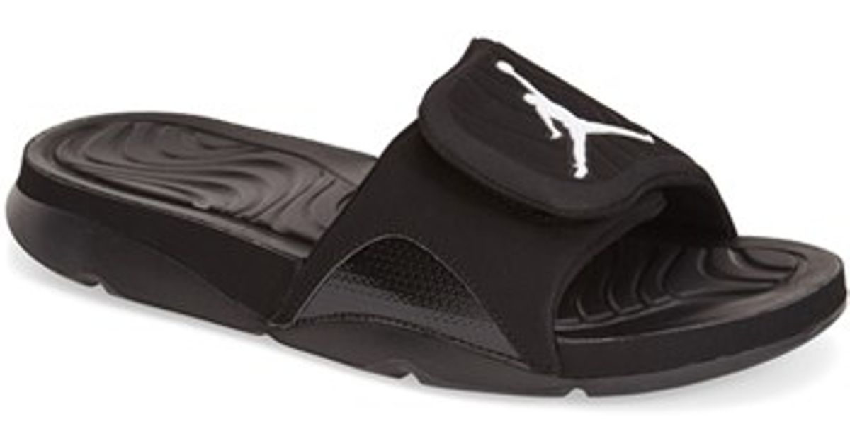 c9584a995 Lyst - Nike  jordan Hydro 4  Slide Sandal in Black for Men