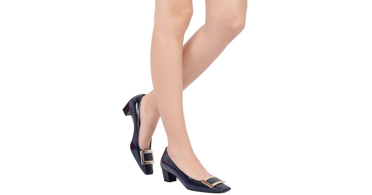 Belle Vivier Pumps in Patent Leather Roger Vivier Sale Manchester Great Sale Purchase Cheap Price Sast For Sale lZPOjr