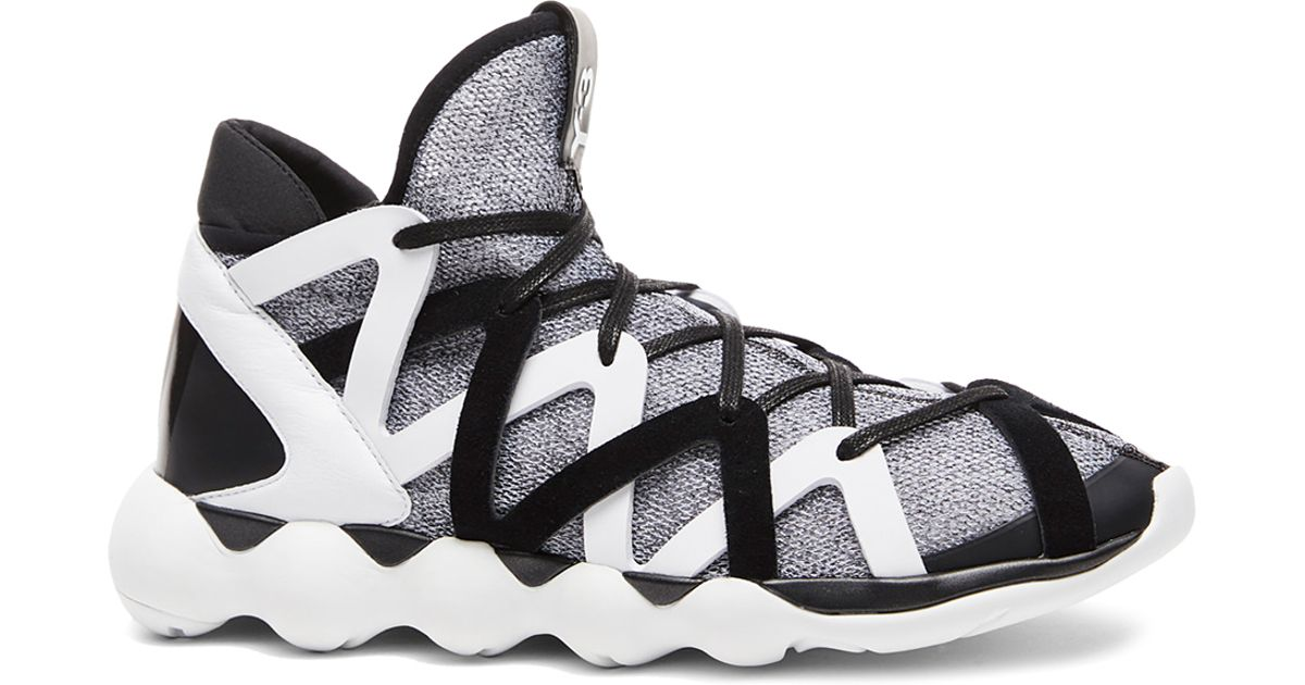 e48679324 Lyst - Y-3 Kyujo High Sneakers in Black for Men