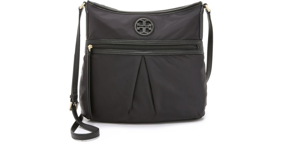 bfbc46a0f0ee7 Lyst - Tory Burch Nylon Swingpack Bag - Black in Black