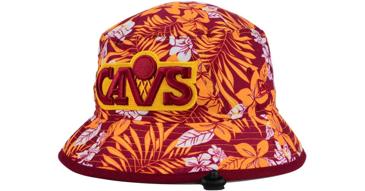 Lyst - KTZ Cleveland Cavaliers Wowie Bucket Hat for Men 9eab5bdc3c7